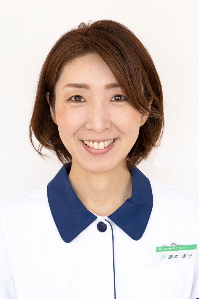 受付・助手:藤本 恵子
